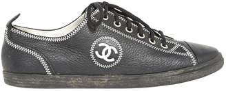 Chanel Leather low trainers