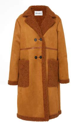 Apparis Clothilde Faux Shearling Coat
