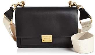 Rebecca Minkoff Christy Medium Leather & Suede Shoulder Bag