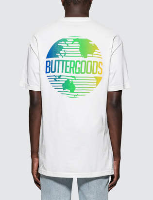 Butter Shoes Goods Gradient Worldwide Logo T-Shirt