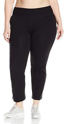 Fruit of the Loom Fit for Me by Women's Plus Size Relaxed Fit Yoga Pant