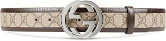 Original GG belt with interlocking G $360 thestylecure.com