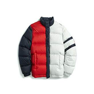 Tommy Hilfiger Adaptive Men's Puffer Jacket with Magnetic Zipper