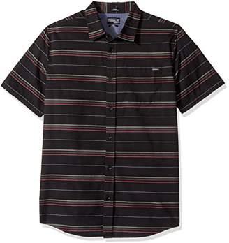 O'Neill Men's Stripe Short Sleeve Shirt