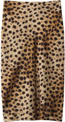 MADISONBLUE (マディソンブルー) - マディソンブルー レオパードプリントタイトスカート