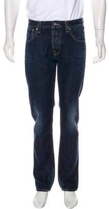 Nudie Jeans Distressed Skinny Jeans