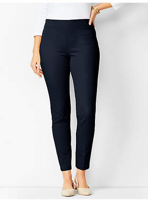 Talbots Bi-Stretch Pull-On Skinny Ankle Pants - Curvy Fit