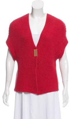 Brunello Cucinelli Sleeveless Knit Cardigan