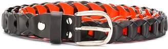 Marios woven contrast belt