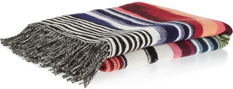 Missoni Home Oberon wool and cashmere-blend throw
