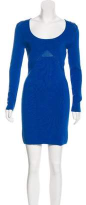 Yigal Azrouel Cut25 by Knit Mini Dress w/ Tags
