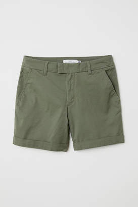 H&M Short Chino Shorts - Green
