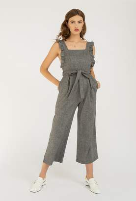 Azalea Ruffle Sleeve Square Neck Jumpsuit