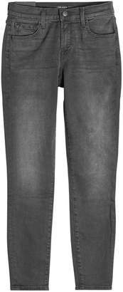 J Brand Mid Rise Capri Jeans