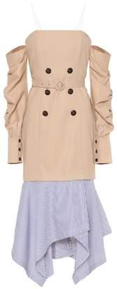 Jonathan Simkhai Cotton trench dress