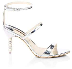 Sophia Webster Rosalind Mirror Leather Sandals