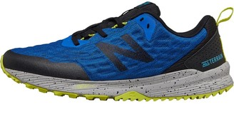 Mens Nitrel V3 Trail Running Shoes Blue/Black