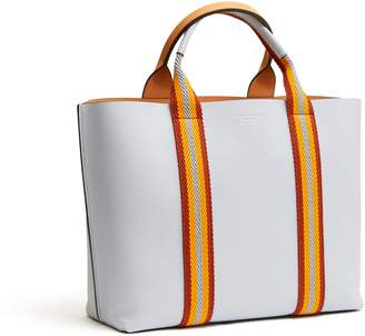Tory Burch PERRY MULTI-STRIPE TRIPLE-COMPARTMENT TOTE