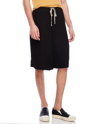 rick owens Solid Big Shorts $760 thestylecure.com