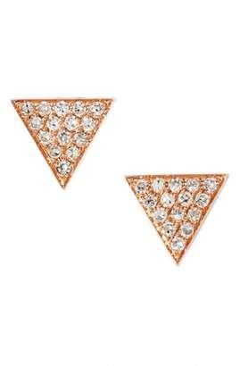 Nordstrom Dana Rebecca Designs 'Emily Sarah' Diamond Pave Triangle Stud Earrings