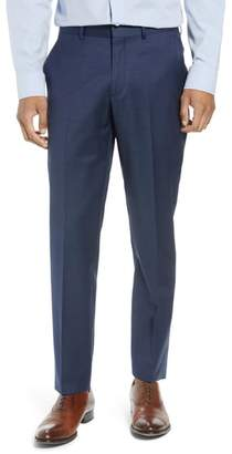 Nordstrom Tech-Smart Trim Fit Flat Front Trousers