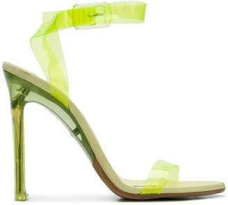 Yeezy transparent PVC sandals