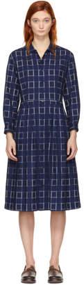 Blue Blue Japan Indigo Button-Up Dress