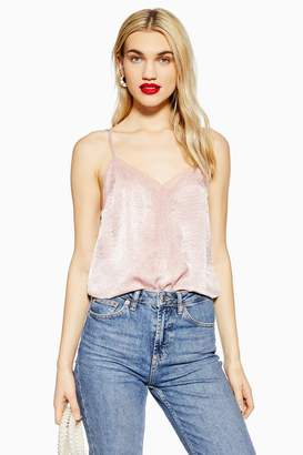 Topshop Lace Camisole Top