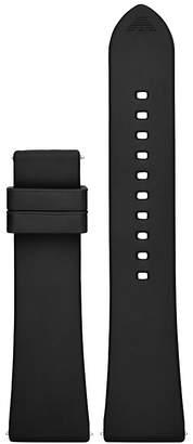 Emporio Armani Armani Rubber Smartwatch Strap, 22mm