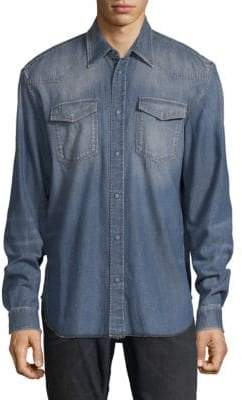 Maison Margiela Straight-Fit Denim Shirt