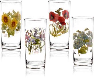 Portmeirion Botanic Garden Highball Glasses, Set of 4
