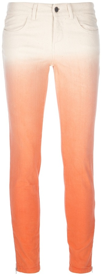 Stella Mccartney ombre skinny jeans