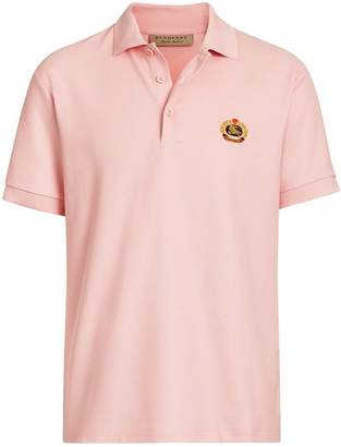 Burberry Archive Logo Cotton Piqué Polo Shirt