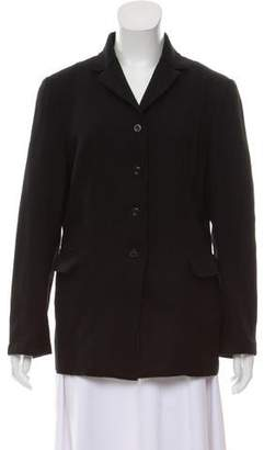 Philosophy di Alberta Ferretti Wool Notch-Lapel Jacket