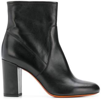 Santoni side-zip ankle boots