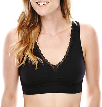 JCPenney Ambrielle Smoothing Solutions Wireless Bralette-141373
