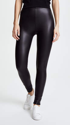 Plush Fleece Lined Liquid Leggings