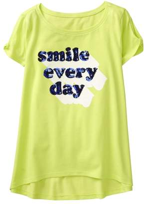 Crazy 8 Sparkle Smile Every Day Tee