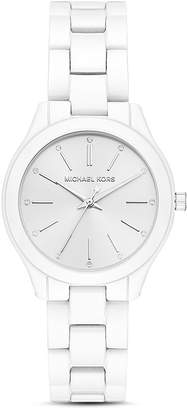 Michael Kors Mini Slim Runway Watch, 34mm x 38mm