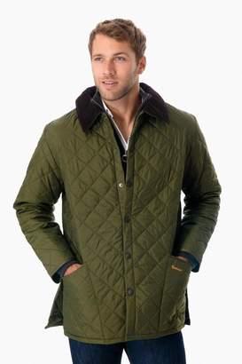 Barbour Olive Quilted Liddesdale Jacket