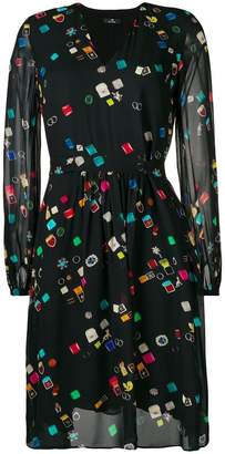 Paul Smith 'jewellery' print dress