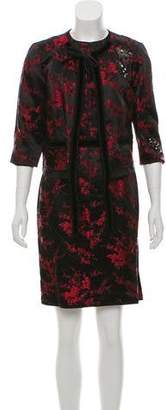 Marc Jacobs Jacquard Embellished Dress Set
