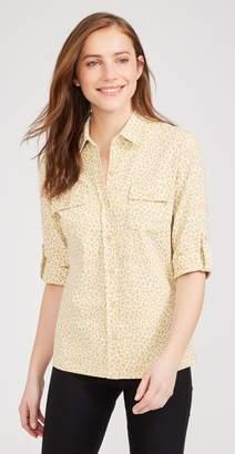 J.Mclaughlin Monroe Shirt in Lynx