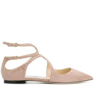 0fcb02b21813 Jimmy Choo Ankle Strap Women s flats - ShopStyle