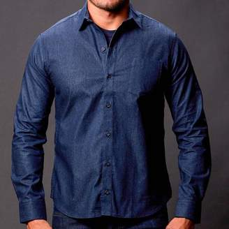 Blade + Blue Navy Blue Chambray Shirt - Blade
