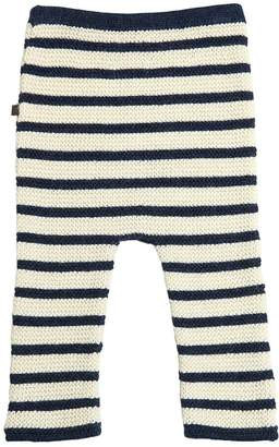 Oeuf Striped Baby Alpaca Tricot Pants