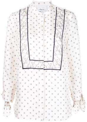 3.1 Phillip Lim printed tie sleeve blouse