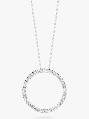 Roberto Coin Small Circle Pendant Necklace