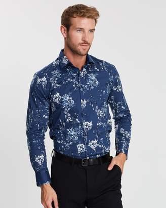 Pierre Cardin Slim Fit Floral Shirt