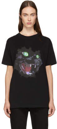 Marcelo Burlon County of Milan Black Cat T-Shirt